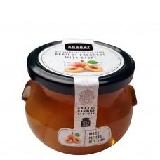 Aprikosmarmelad med kärna 420 g.