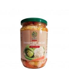 Grönsakssallad Mix i olja 700 g.