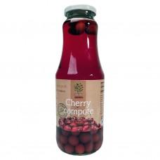 Körbärskompott (juice med frukt i) 1L.