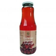 Kornellkompott (juice med frukt i) 1L.