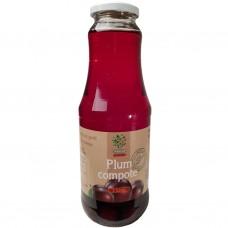 Plommonskompotter (juice med frukt i) 1L.